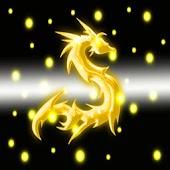 3D lighting dragon