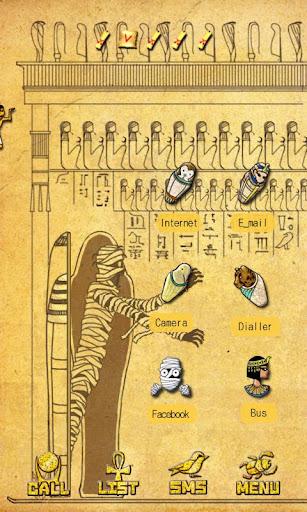 CUKI Theme Egypt Mummys