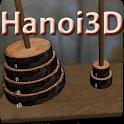 Hanoi Tower 3D Puzzle logo