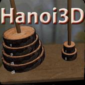 Hanoi Tower 3D Puzzle