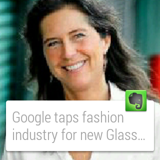 Evernote for Android Wear: captura de pantalla