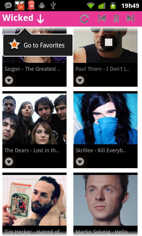 Wicked Songs App Lite - screenshot