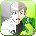 Download Android Game Coloring Book Ben 10 Edition For Samsung