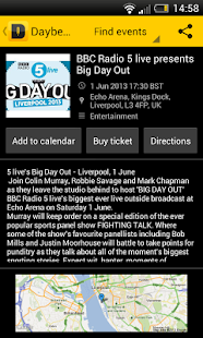 Daybees Event Finder - screenshot thumbnail