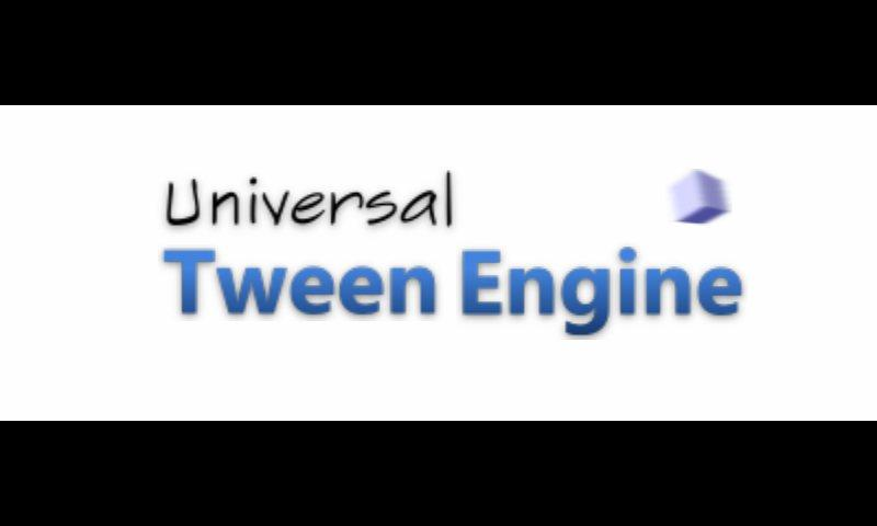 Universal Tween Engine- screenshot