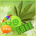 Weed Ganja Theme for GO SMS icon