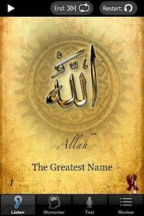 Names of Allah- screenshot thumbnail