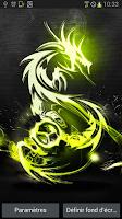 Screenshot of Battery Tribal Dragon LWP