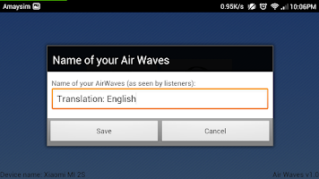 Screenshot of Air Waves (Lite)