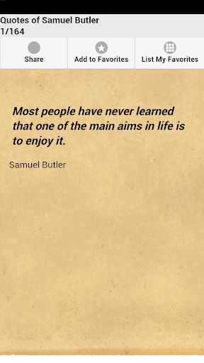 Quotes of Samuel Butler