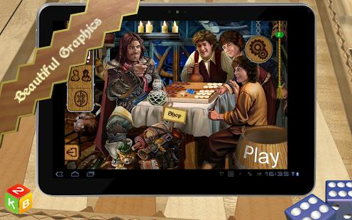 Backgammon Masters- screenshot thumbnail