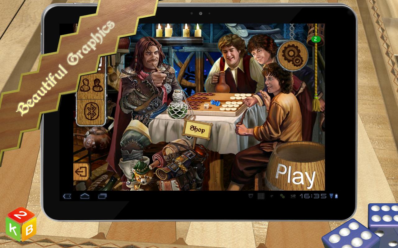 Backgammon Masters - screenshot