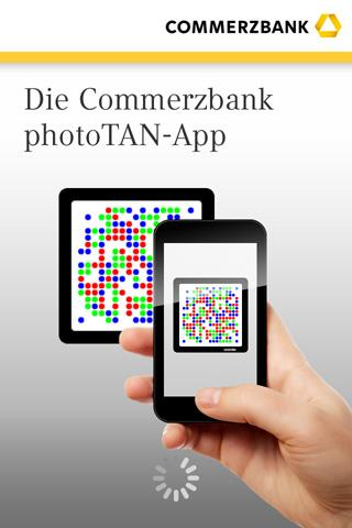 Commerzbank photoTAN - screenshot