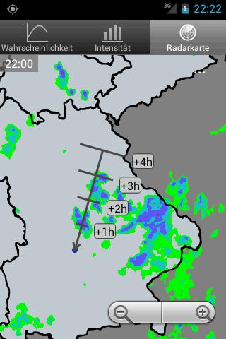 RegenVorschau- screenshot