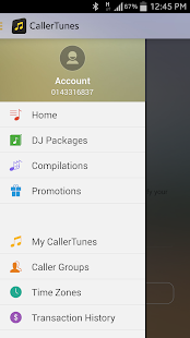 CallerTunes - screenshot thumbnail