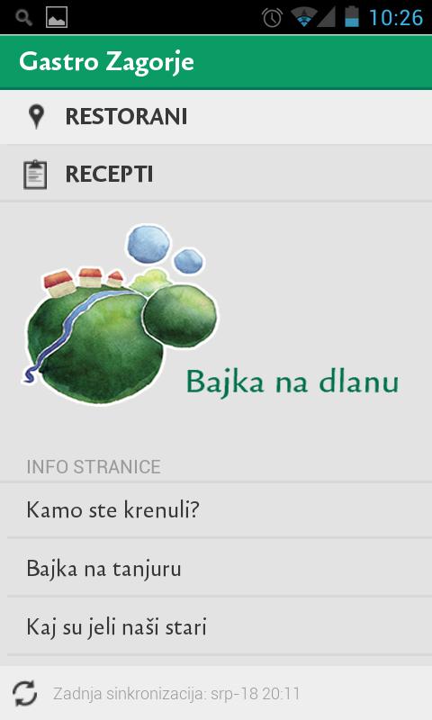 Gastro Zagorje- screenshot