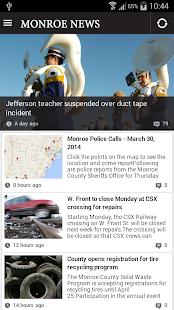 Monroe News - screenshot thumbnail