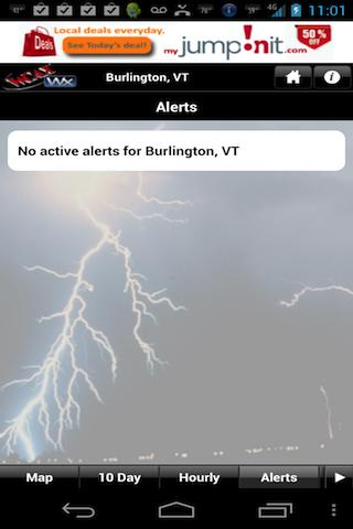 WCAX WEATHER - screenshot