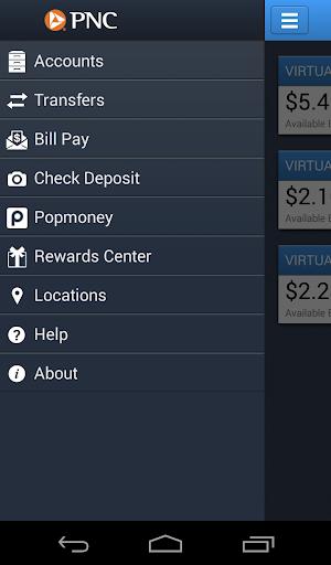 PNC Mobile Screenshot
