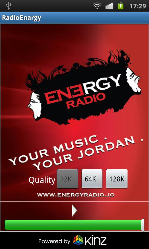 Energy Radio Jordan - screenshot