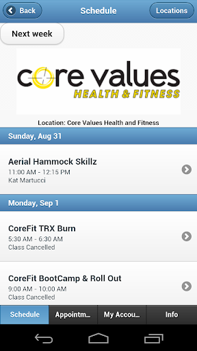 Core Values Health and Fitness