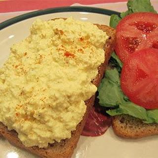 Deviled Eggless Salad.