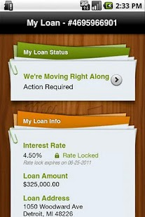 My Quicken Loans Mobile - screenshot thumbnail