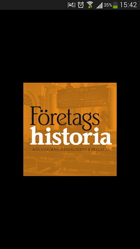 Företagshistoria