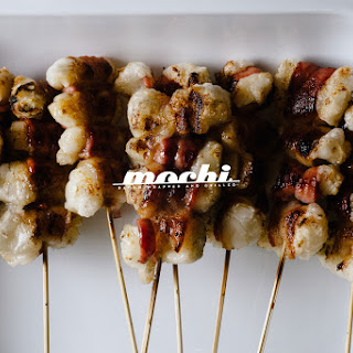 Bacon-Wrapped Yaki Mochi
