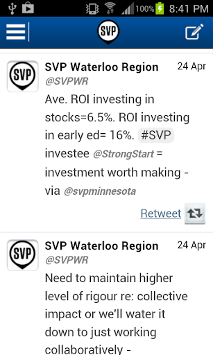 SVP Waterloo Region