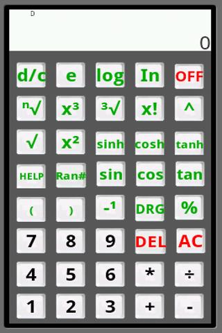 Scientific Calculator Alpha