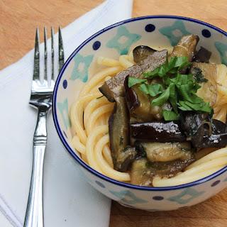 Pasta And Eggplant