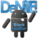 Leather Blue CM10 Theme Free icon