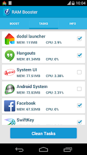 RAM Booster (Mem. Optimizer)- screenshot thumbnail