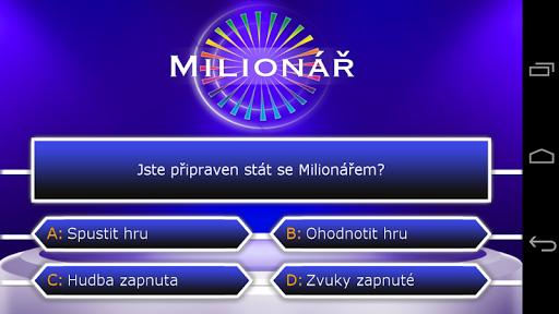Milionář screenshot