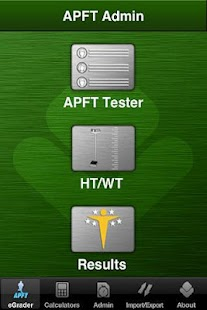 Army APFT eGrader- screenshot thumbnail