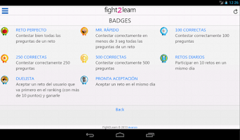 Screenshot of Fight2Learn