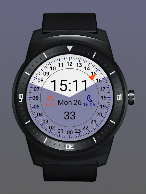 24h Watch Faces Android Wear- screenshot