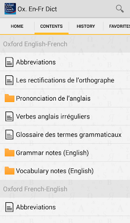 Oxford French Dictionary TR 4.3.136 screenshot 75254