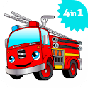 Fire Truck games for kids lite icon