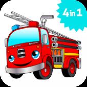 Fire Truck games for kids lite
