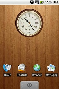 Classic Wooden Clock 2x2 - screenshot thumbnail