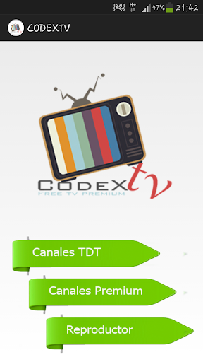 CoDex Tv TDT SPAIN PREMIUM