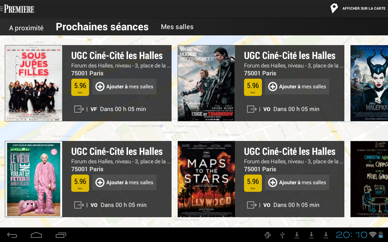 Première Ciné - screenshot