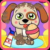 Dog Wash Caring Game