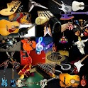 Guitar Collage Live Wallpaper icon