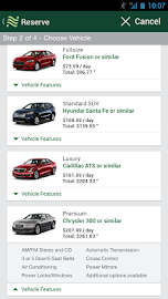 National Car Rental Screenshot 4