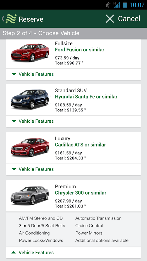 National Car Rental- screenshot