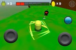 Screenshot of Super Droid World
