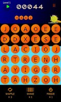 Screenshot of BeanZilla - Arcade word game!